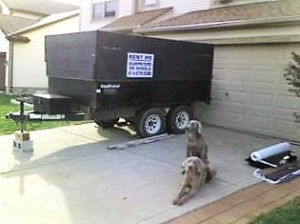 dumpster rental for roofing in Columbus
